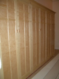 Country House apartment fitted wardrobes
